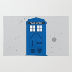 The Tardis Got Some Ink Rug