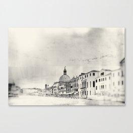 Venice - Study 1 Canvas Print