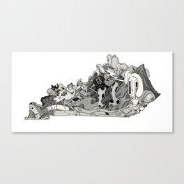 Kentucky Wild Canvas Print
