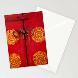 Temple Door Stationery Cards