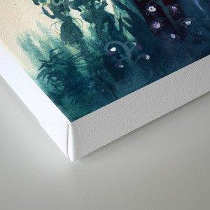 Declaration of winter Canvas Print