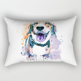 Sweet Beagle Rectangular Pillow