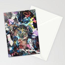 rihanna - scars Stationery Cards