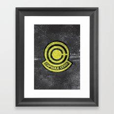 Capsule Corp. Framed Art Print
