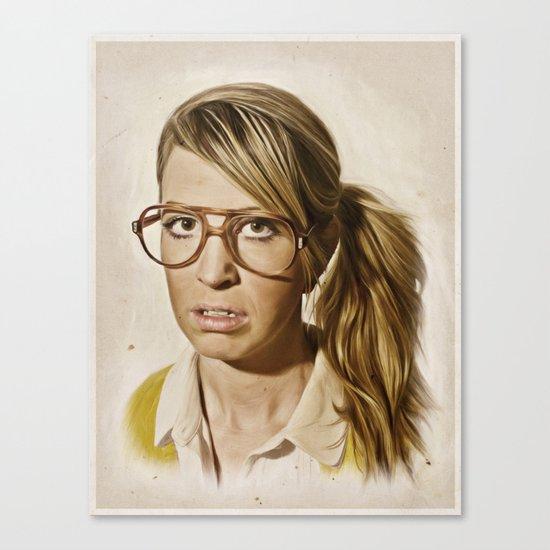 i.am.nerd. : Lizzy Canvas Print