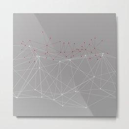 LIGHT LINES ENSEMBLE X-A Metal Print