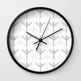 Totem Wall Clock