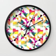 Aztec Geometric IV Wall Clock