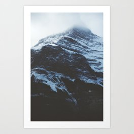 Rockies (Colour) Art Print