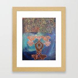 Jessica's Bloom Framed Art Print