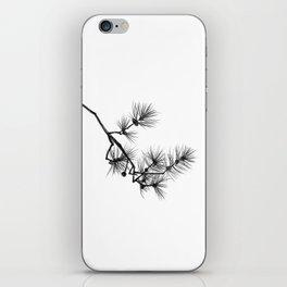 Branche de pin iPhone Skin
