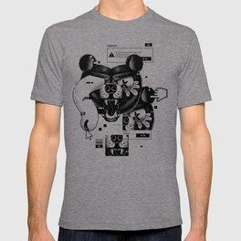 Bear Head Glitch T-shirt