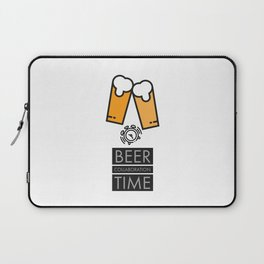 Beer Collaboration Time Laptop Sleeve