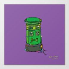 Irish postbox Canvas Print