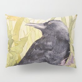 Canuck the Crow Pillow Sham