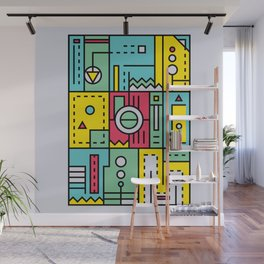 Play on words | Graphic jam Wall Mural