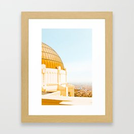 Griffith Observatory Framed Art Print