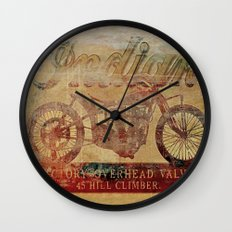 Indian - Vintage Motorcycle Wall Clock