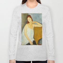 "Amedeo Modigliani ""Jeanne Hebuterne"" Long Sleeve T-shirt"