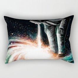 Cosmic Vomit Rectangular Pillow