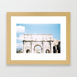 Arch of Constantine Framed Art Print