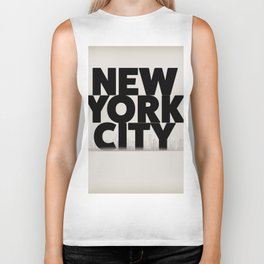 New York City vintage poster, Biker Tank