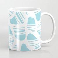 Okapi Animal Print [Island Blue] Mug