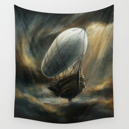 Flight to Neverland Wall Tapestry