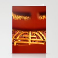 literature Stationery Cards featuring Temple of Literature by DrCaroline