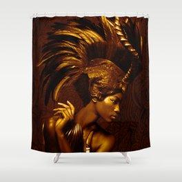 Afrofuturism fashion Shower Curtain
