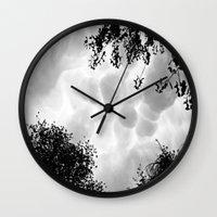 aliens Wall Clocks featuring Aliens  by inka