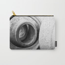 Soft lines, hard surface Carry-All Pouch