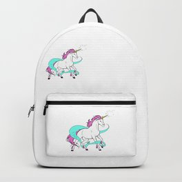 Magical Unicorn (White and Pink) Backpack