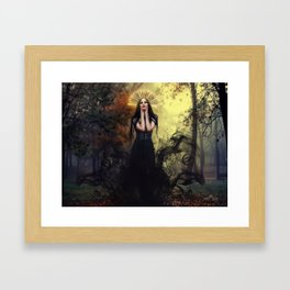 Djinn Priestess Framed Art Print