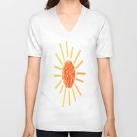 sunshine V-neck T-shirts featuring Sunshine by Hints Photos