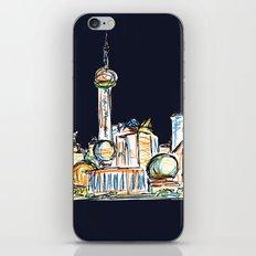 Shanghai - Midnight Version iPhone & iPod Skin