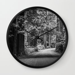 Grey Ghosts Wall Clock