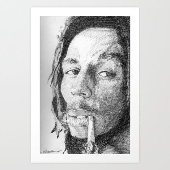 B.Marley Art Print