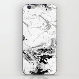 // MARBLED WHITE // iPhone Skin