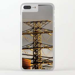Power Tower Clear iPhone Case