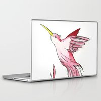 hummingbird Laptop & iPad Skins featuring Hummingbird by Eric Weiand