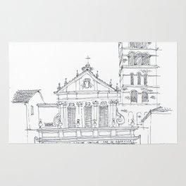 Basilica di Santa Cecilia in Trastevere Rug