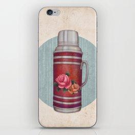 Retro Warm Water Jar iPhone Skin