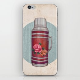 Retro Warm Water Jar iPhone Skin