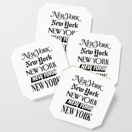 I Heart New York City Black and White New York Poster I Love NYC Design black-white home wall decor Coaster