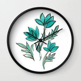Monday Singular Wall Clock