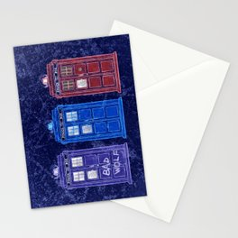 The Doctors' TARDISes Stationery Cards