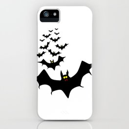 Isolated Bats iPhone Case
