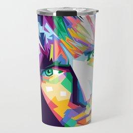 Cobain In Pop Art Travel Mug