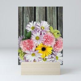 Rustic Bouquet Mini Art Print